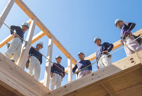 技術力を持った大工棟梁と親身になってくれる社内スタッフ 愛知県 岐阜県で新築 注文住宅をお探しなら新和建設にお任せください