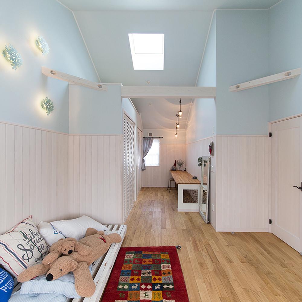 色つきの壁紙でお部屋をもっとおしゃれに 愛知県 岐阜県で新築 注文